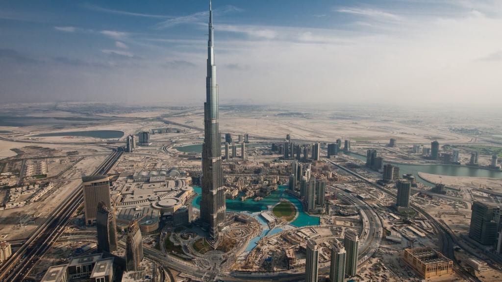 Dubai Tallest Building Structure
